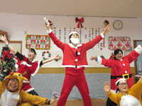 クリスマス忘年会の様子01